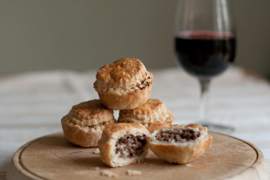 Mince pies with port LR