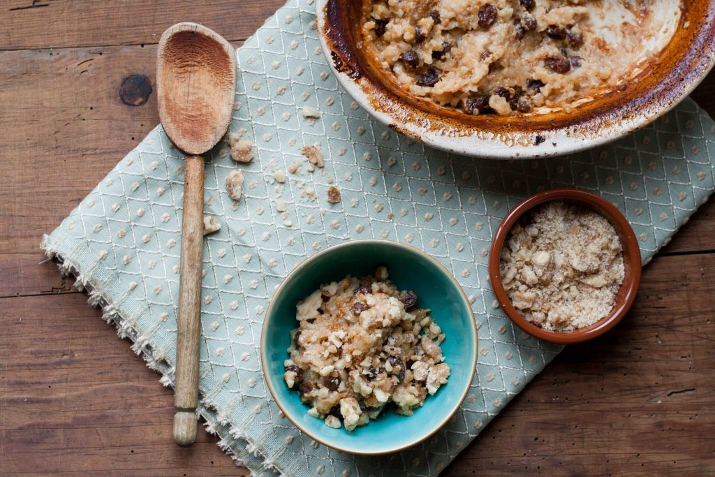 Rice Pudding with Whisky Raisins 2