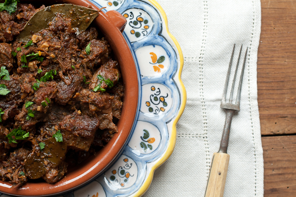 Lamb & Black Pepper Stew / Pebre