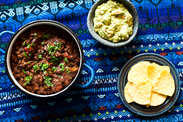 Venison & Black Bean Chilli