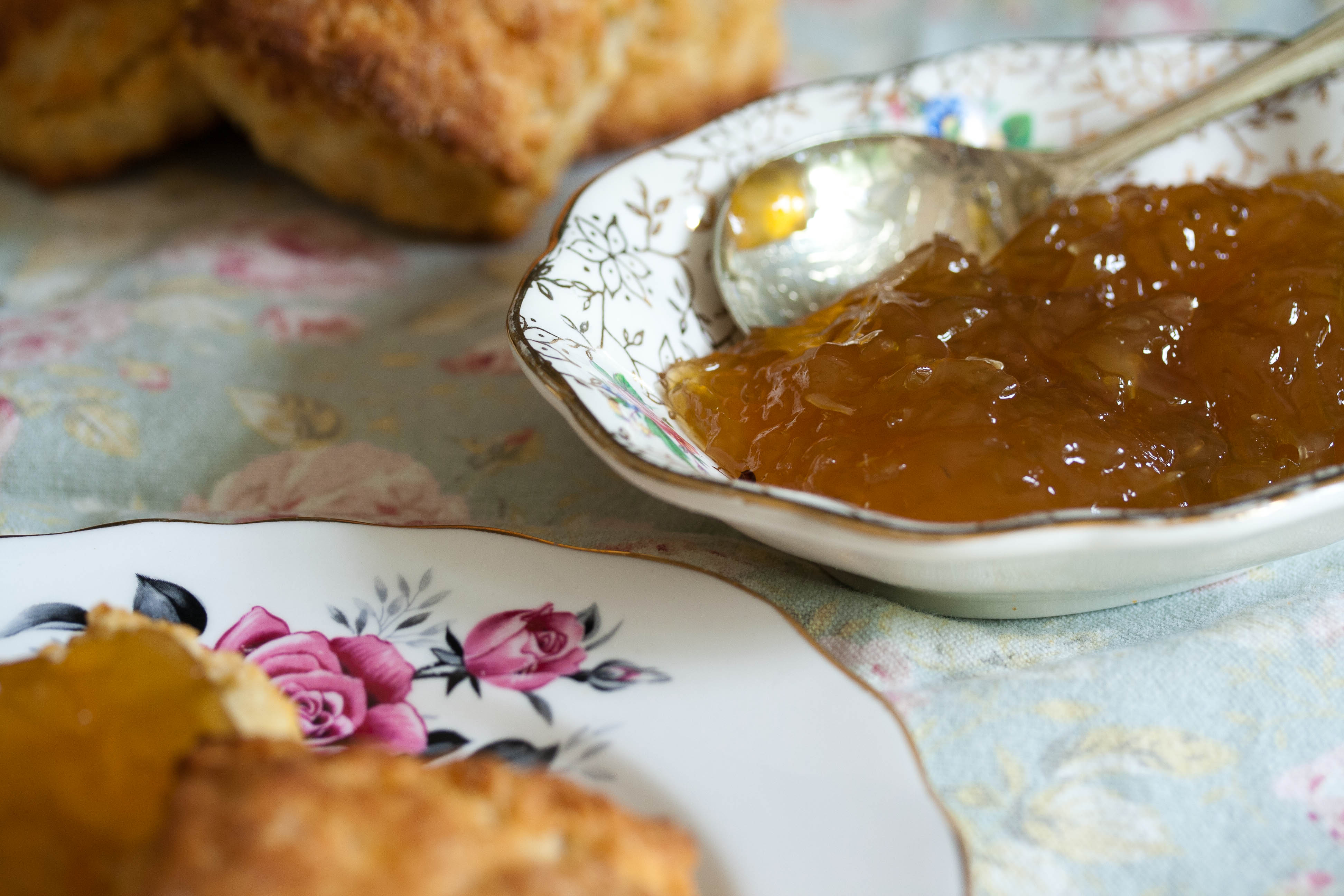 Spiced Courgette Marmalade