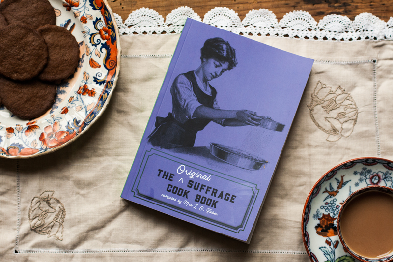 THE ORIGINAL SUFFRAGE COOK BOOK BY MRS L O KLEBER (BOOK REVIEW)